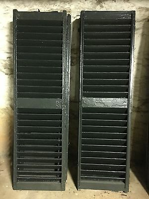 Pair (nine available) - Fully Restored Exterior Shutters, circa mid-19th century