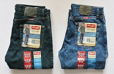 Wrangler Men's Straight Fit Jean All Men's Sizes Two colors Free Shipping