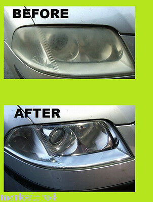 Headlight Cleaner Restorer Headlight Lens Restoration Wipes From Yellow Off
