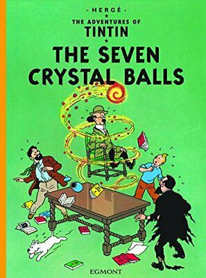 The Seven Crystal Balls (The Adventures of Tintin) by Herge Paperback Book The