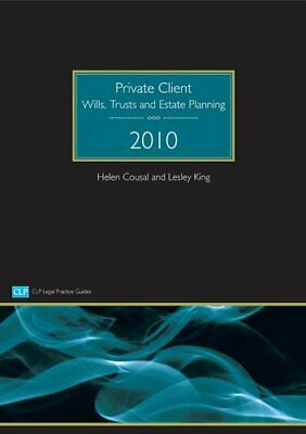 Private Client: Wills, Trusts and Estate Planning ... by Cousal, Helen Paperback