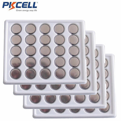 Lot of PKCELL CR2032 (100pcs) ECR2032 2032 3V Button Coin Cell Watch Battery