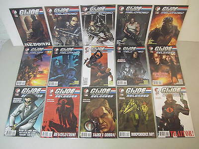 Complete Set Of G.i. Joe Reloaded #1-14 Ddp Comics Limited Series 2004