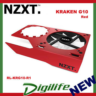 NZXT Kraken G10 Video Card GPU Bracket Cooler Red