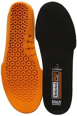 Timberland PRO Mens Anti Fatigue Technology Replacement Insole,Orange,Small/6-7