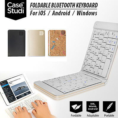 Foldable Wireless Bluetooth Keyboard Keypad for iOS / Android / Windows
