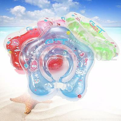 Baby Infant Kids Inflatable Float Neck Ring Collar Swimming Pool Bathing Safety