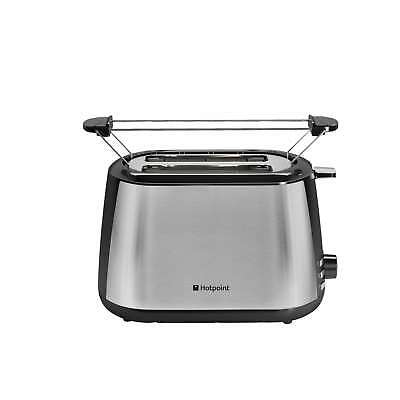 Hotpoint TT22MDXBOL MyLine 2 Slice Wide Slot Toaster in Brushed Stainless Steel