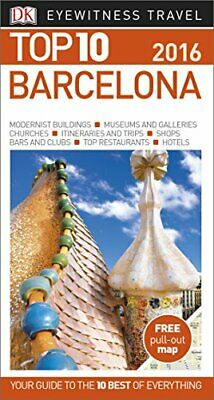 DK Eyewitness Top 10 Travel Guide Barcelona by DK Book The Cheap Fast Free Post