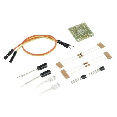Simple Flash Light Circuit Production Board 5MM LED DIY Kit 3-9V DC