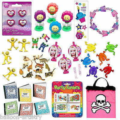 100 x Assorted GIRLS PRINCESS Party Goody Bag Fillers Loot Favor Toys Pinata