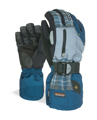 Level Snowboardhandschuh Glove Star blau Thermo-plus Membra-Therm