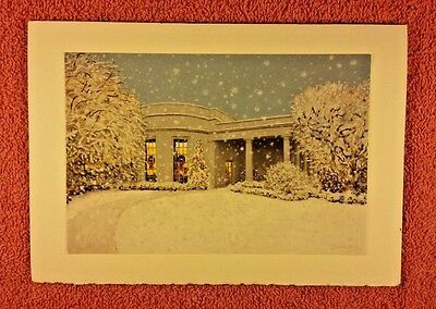 2006 White House President George Bush Official Christmas Card