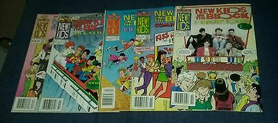 New kids on the block 5 issue harvey comics lot music album cd record tape