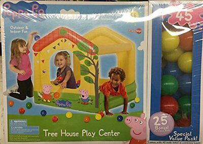 Better Sourcing Peppa Pig Tree House Ball Pit Play Center