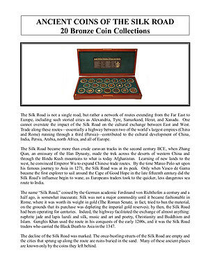Ancient Coins Of The Silk Road: A 20 Bronze And Copper Coin Collection