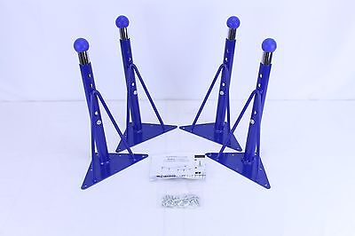 "4 Toddler table adjustable 14"" 21"" table legs ball glide, school table legs"