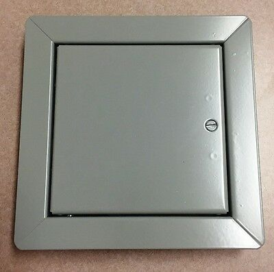 "Babcock-Davis 6""x 6"" NTC0606 Non Rated Access Door 1"" Flange Gray FREE SHIPPING"