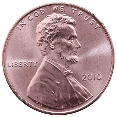 2010 Lincoln Shield Cent Satin Finish Penny