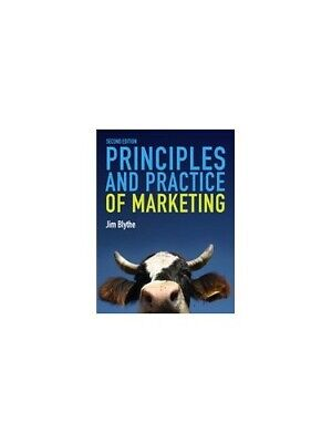 Principles & Practice of Marketing by Jim Blythe Paperback Book The Cheap Fast