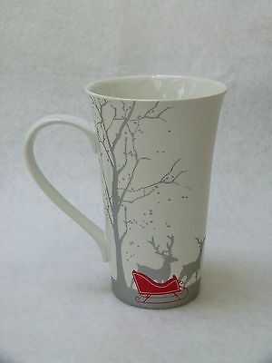 Latte Mug  from 222 Fifth - Red Sleigh