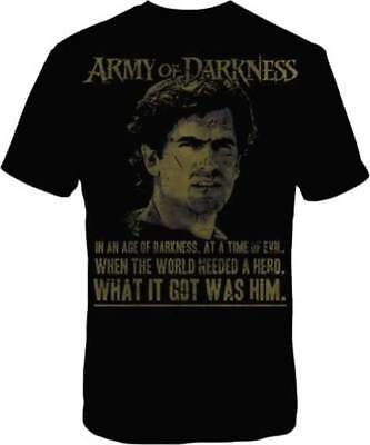 ARMY OF DARKNESS - EVIL DEAD - In an Age T-shirt - NEW - SMALL ONLY *DISCOUNTED*