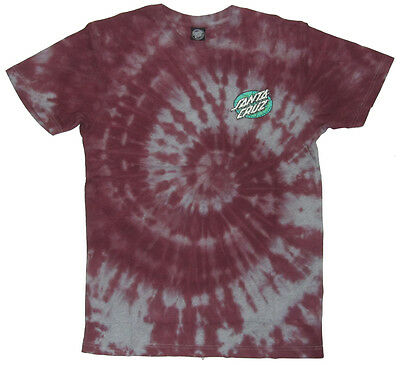 SANTA CRUZ - Psychedelic Dot Port T-shirt - NEW - SMALL ONLY