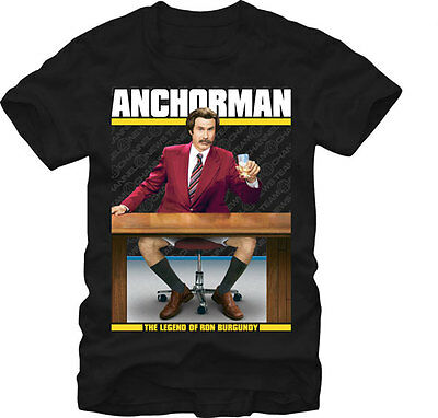 ANCHORMAN - Unrated:T-shirt NEW:SMALL ONLY
