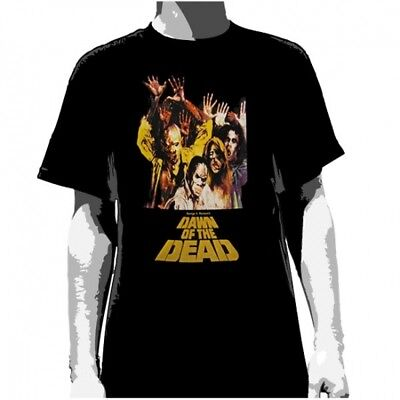 DAWN OF THE DEAD:Zombie:T-shirt NEW:MEDIUM ONLY