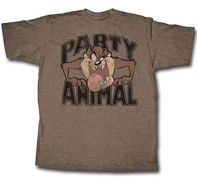 TAZ - Party Animal - Distressed Print (Looney Tunes):T-shirt - NEW - MEDIUM ONLY