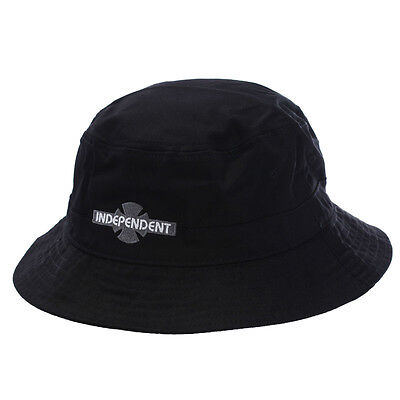 INDEPENDENT - BC Bucket (Black) - HAT - NEW