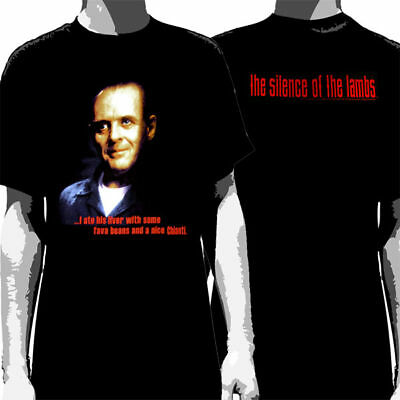 SILENCE OF THE LAMBS - Lecter:T-shirt NEW - SMALL ONLY