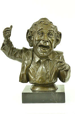 Bronze Sculpture Figure Limited Edition Numbered Original President Statue