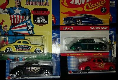 Hot Wheels 40 Ford Coupe 4 Of