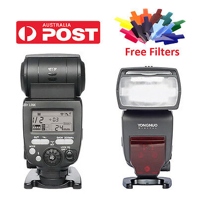 Yongnuo YN660 2.4GHz Wireless Flash Speedlite Master Slave for Nikon Canon DSLR