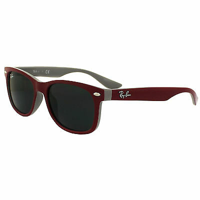 Ray-Ban Junior Sonnenbrille 9052S Top Red Fuxia On Grey Grey 177-87