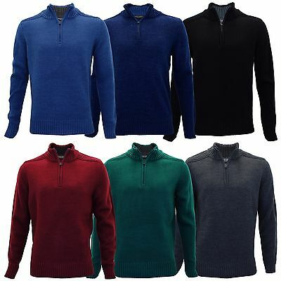 609c0c6f0e4d19 Mens Charles Norton Funnel Neck Zip Up Sweatshirt Casual Knitted Pullover  Jumper