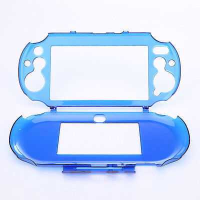 Slim Hard Crystal Clear Shell Protector Case Cover for Sony PS Vita PSV 2000 New