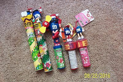 Lot of 5 BLUE M&M Items - NEW