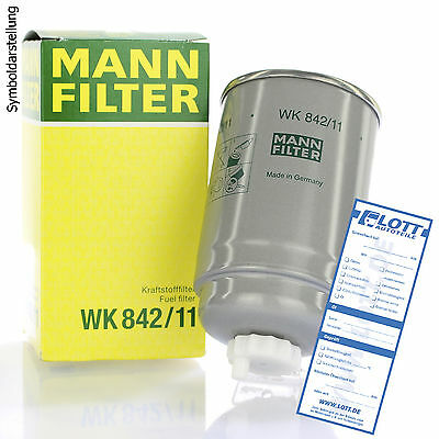 MANN-FILTER Fuel filter Nissan