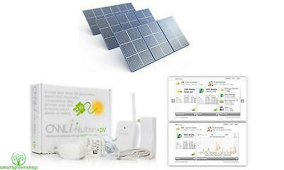 OWL Intuition-PV Solar Energy Monitor (View Generation, Export & Use) Type 1