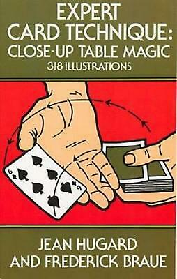Expert Card Technique: Close-Up Table Magic by Jean Hugard (English) Paperback B