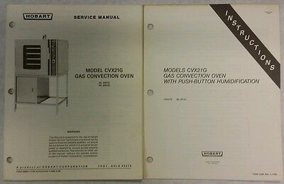 Hobart convection oven service manual