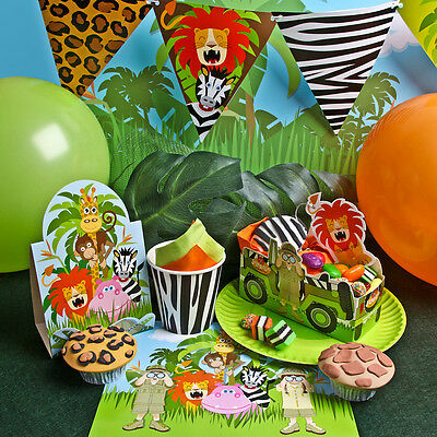 Safari Kids Party Theme