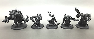 Privateer Press Warmachine Hordes Trollbloods Army Deal Built & Undercoated