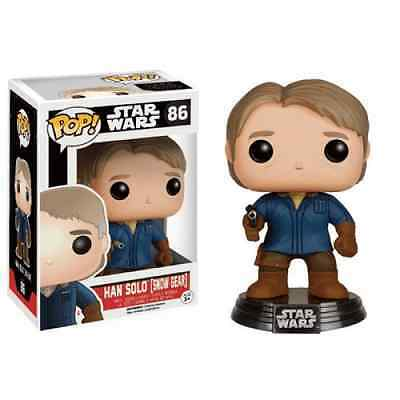 Figurine POP Star Wars EP7 Han Solo Snow Gear Exclusive Licence Officielle