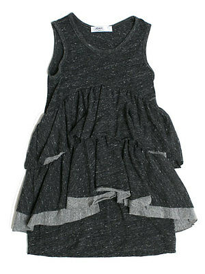 Joah Love Jessa Charcoal Jersey Cotton Sleeveless Dress Size 4, 6, 14 NWT
