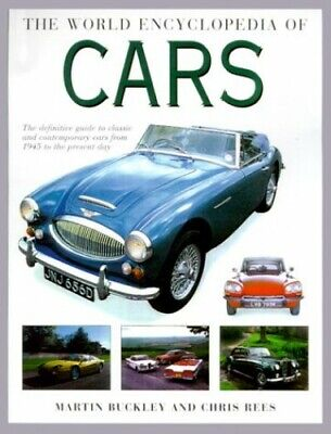 The World Encyclopedia of Cars by Rees, Chris Hardback Book The Cheap Fast Free