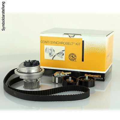 CONTITECH Water Pump & Timing Belt Kit Opel