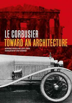 Toward an Architecture by Le Corbusier (English) Paperback Book Free Shipping!